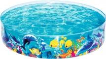 Бассейн BestWay Рыбы 183х38 см 55030