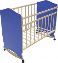 Кроватка ВДК Морозко, синий