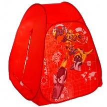 """Детская палатка """"Трансформеры"""", красный, Играем вместе"""