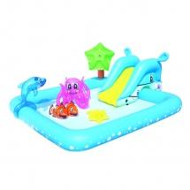 """Бассейн """"Фантастический аквариум"""", с игровым набором, 239х206х86 см, BestWay"""