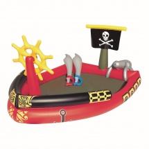 """Бассейн """"Пираты"""", с игровым набором, 190х140х96 см, BestWay"""