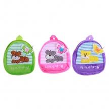 """Детский рюкзак """"Зверюшки с бабочкой"""", 5×22×24см, SLand"""