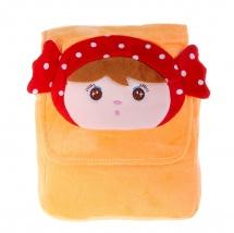 """Детский рюкзак """"Девочка"""", оранжевый, 24×18×6см, SLand"""