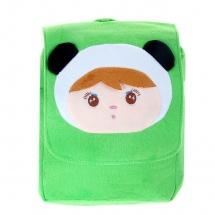 """Детский рюкзак """"Девочка"""", зеленый, 22×5,5×2см, SLand"""