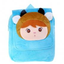 """Детский рюкзак """"Девочка"""", голубой, 23×4×28см, SLand"""