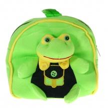 "Детский рюкзак ""Лягушка в комбинезоне"", 6×25×29см, SLand"
