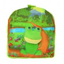 Детский рюкзак Лягушка, 5×26×27см