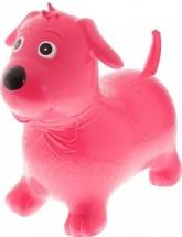 Прыгун Забияка Собачка, розовый