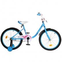 "Велосипед двухколесный ""Fashion girl"", 20"", синий, GRAFFITI"