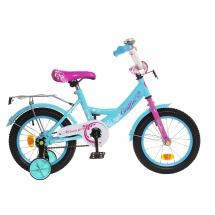 """Велосипед двухколесный """"Classic Girl"""", 14"""", бирюзовый, GRAFFITI"""
