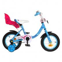 "Велосипед двухколесный ""Fashion girl"", 12"", синий, GRAFFITI"