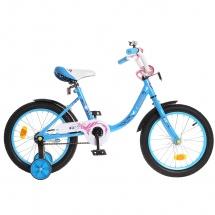 "Велосипед двухколесный ""Fashion girl"", 16"", синий, GRAFFITI"