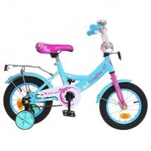 """Велосипед двухколесный """"Classic Girl"""", 12"""", бирюзовый, GRAFFITI"""