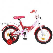 """Велосипед двухколесный """"Classic Girl"""", 14"""", коралловый, GRAFFITI"""