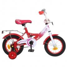 """Велосипед двухколесный """"Classic Girl"""", 12"""", коралловый, GRAFFITI"""