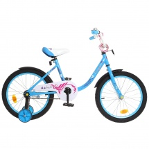 "Велосипед двухколесный ""Fashion girl"", 18"", синий, GRAFFITI"