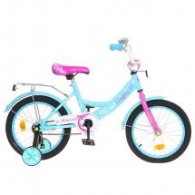 """Велосипед двухколесный """"Classic Girl"""", 16"""", бирюзовый, GRAFFITI"""