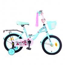 """Велосипед двухколесный """"Premium Girl"""", 14"""", мята, GRAFFITI"""