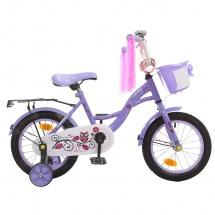 """Велосипед двухколесный """"Premium Girl"""", 14"""", сиреневый, GRAFFITI"""