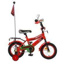 """Велосипед двухколесный """"Premium Racer"""", 12"""", красный, GRAFFITI"""