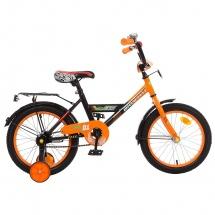 """Велосипед двухколесный """"Classic Boy"""", 16"""", оранжевый, GRAFFITI"""