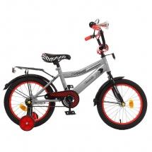 """Велосипед двухколесный """"Premium Racer"""", 16"""", серый, GRAFFITI"""