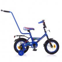 """Велосипед двухколесный """"Classic Boy"""", 12"""", синий, GRAFFITI"""