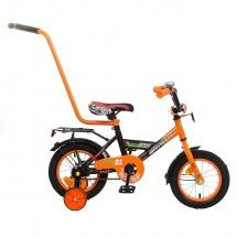 """Велосипед двухколесный """"Classic Boy"""", 12"""", оранжевый, GRAFFITI"""