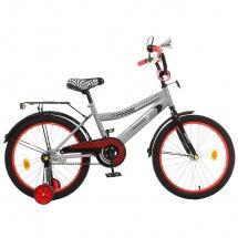"""Велосипед двухколесный """"Premium Racer"""", 20"""", серый, GRAFFITI"""