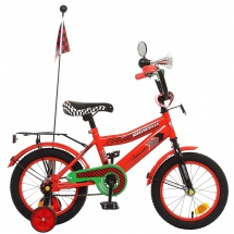 """Велосипед двухколесный """"Premium Racer"""", 14"""", красный, GRAFFITI"""