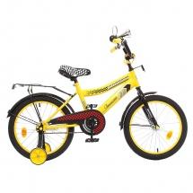 """Велосипед двухколесный """"Premium Racer"""", 18"""", желтый, GRAFFITI"""