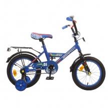 """Велосипед двухколесный """"Classic Boy"""", 14"""", синий, GRAFFITI"""