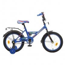 """Велосипед двухколесный """"Classic Boy"""", 16"""", синий, GRAFFITI"""