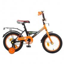 """Велосипед двухколесный """"Classic Boy"""", 14"""", оранжевый, GRAFFITI"""