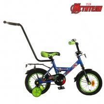 """Велосипед двухколесный """"Мстители"""", 12"""", синий, GRAFFITI"""