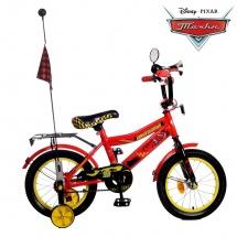 """Велосипед двухколесный """"Тачки"""", 14"""", красный, GRAFFITI"""