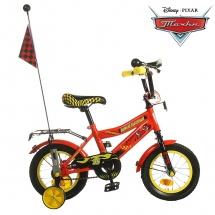 """Велосипед двухколесный """"Тачки"""", 12"""", красный, GRAFFITI"""