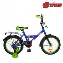 """Велосипед двухколесный """"Мстители"""", 16"""", синий, GRAFFITI"""