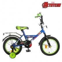 """Велосипед двухколесный """"Мстители"""", 14"""", синий, GRAFFITI"""