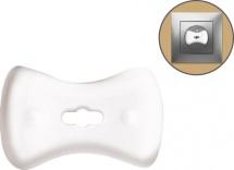 Заглушки Lubby для розеток малые с ключом 6 шт