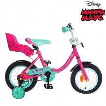 """Велосипед двухколесный """"Минни Маус"""", 12"""", розовый, GRAFFITI"""