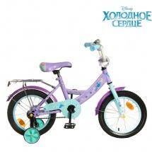 """Велосипед двухколесный """"Холодное сердце"""", 14"""", фиолетовый, GRAFFITI"""
