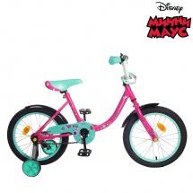 """Велосипед двухколесный """"Минни Маус"""", 16"""", розовый, GRAFFITI"""