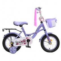 """Велосипед двухколесный """"Premium Girl"""", 12"""", сиреневый, GRAFFITI"""