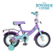 """Велосипед двухколесный """"Холодное сердце"""", 12"""", фиолетовый, GRAFFITI"""