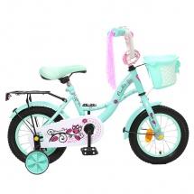 """Велосипед двухколесный """"Premium Girl"""", 12"""", мята, GRAFFITI"""