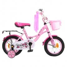 """Велосипед двухколесный """"Premium Girl"""", 12"""", розовый, GRAFFITI"""