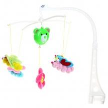 "Мобиль ""Бабочки"", плюш., Baby Toys"