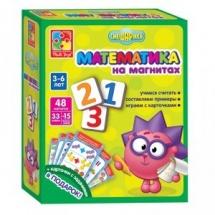 """Математика на магнитах """"Смешарики"""", Vladi Toys"""