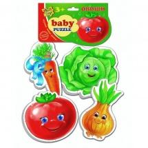 "Пазлы мягкие Vladi Toys ""Овощи. Baby Pazzle"""